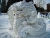Hong Kong\'s Snow Sculpture